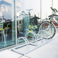 High Hoop Cycle Rack