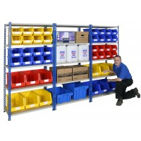 Easy To Build Shelving - 5 Levels - 1830mm H
