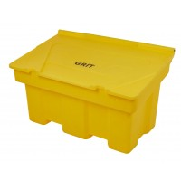 Stackable Grit Bins with Salt