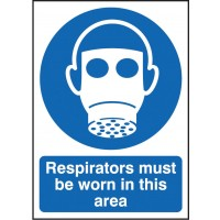 Respirators must be worn in this area