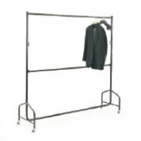 Medium Duty Garment Rail - Double bar