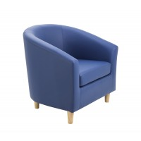 Sofa Tub Seat - Wooden Feet