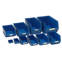 Pack of 6 Storage Bins - Not Suitable For Louvre Panels