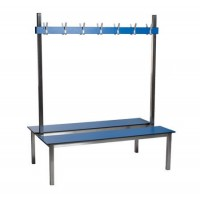 Double Sided Stainless Steel Bench