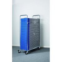 Stabil folding chair trolley - Complete with 50 chairs