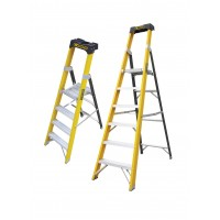 Glass Fibre Platform Stepladders