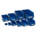 Pack of 6 LARGE Storage Bins - Not Suitable For Louvre Panels