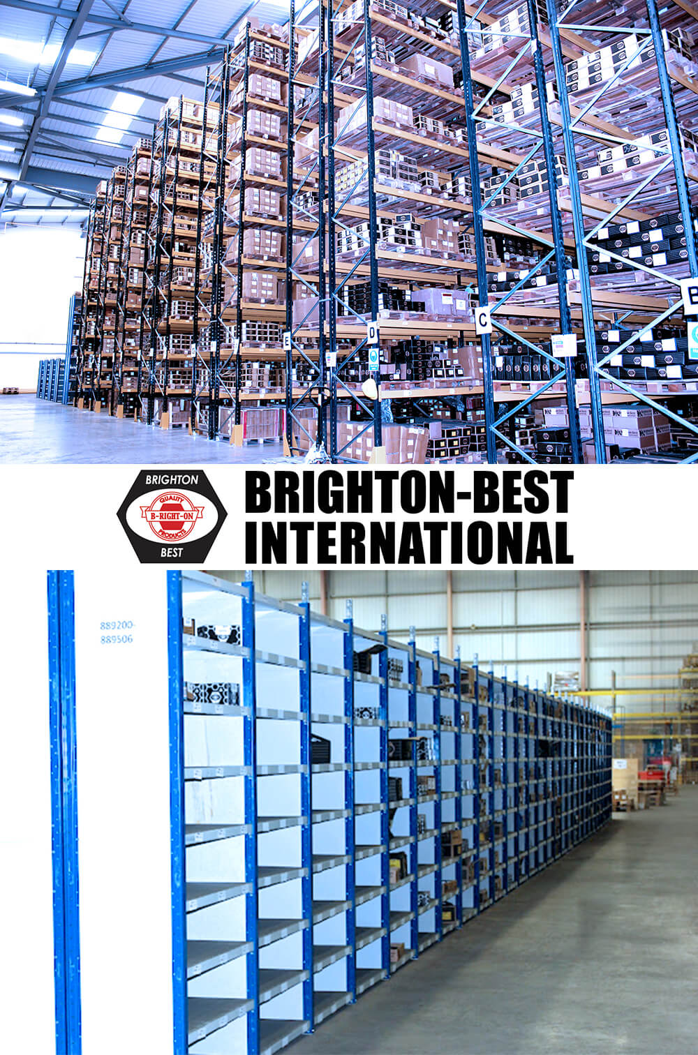 Warehouse Pallet Racking & Shelving for Brighton Best