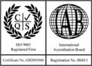 Dalvie Systems is ISO 9001 Registered