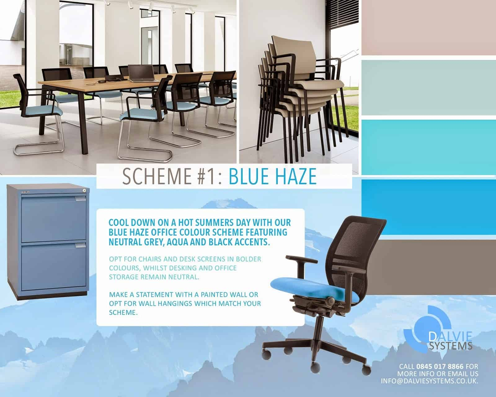 #1 Blue Haze inspired by Dalvie Systems